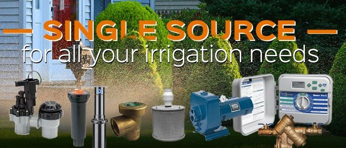 Single Source for all your Irrigation Needs