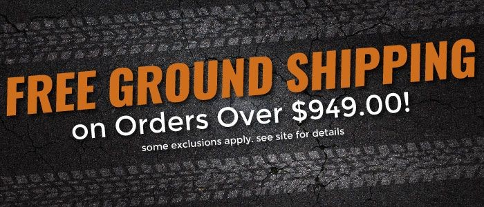 Free Ground Shipping on Order over $949.00