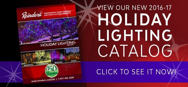 Reinders Holiday Lighting Catalog