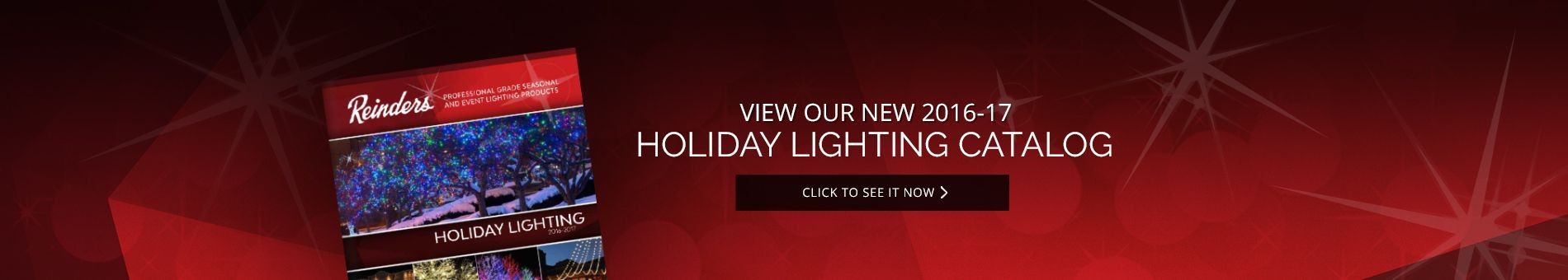 View Our New Holiday LED Lighting Catalog