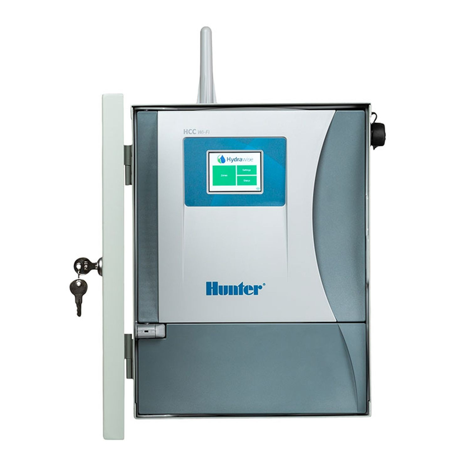 Hunter - 8 Station HCC Controller with Metal Wall Mount | Reinders
