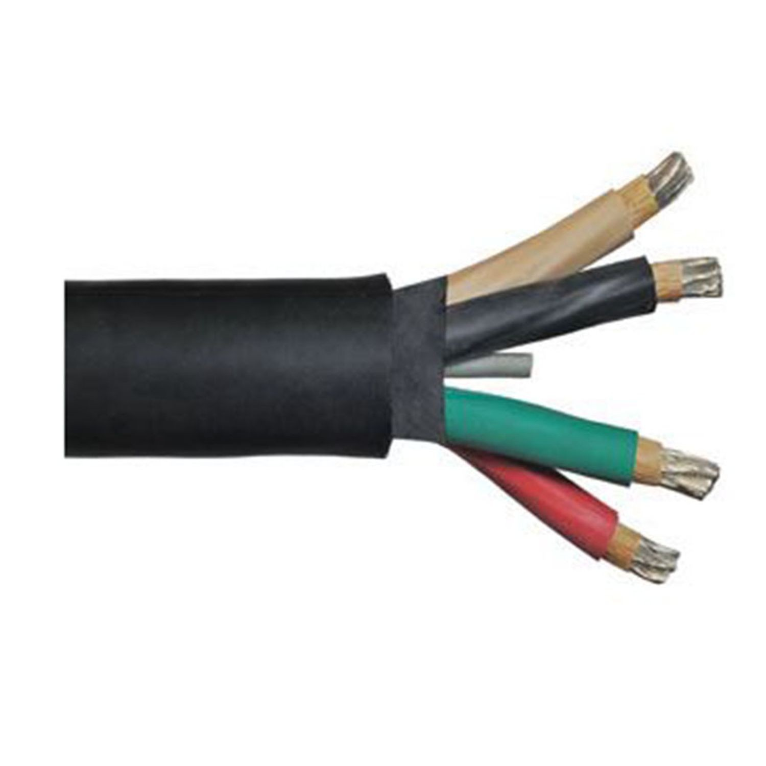 Paige Electric - 12/3 Cable SJOW-A - 250\' Coil   Reinders