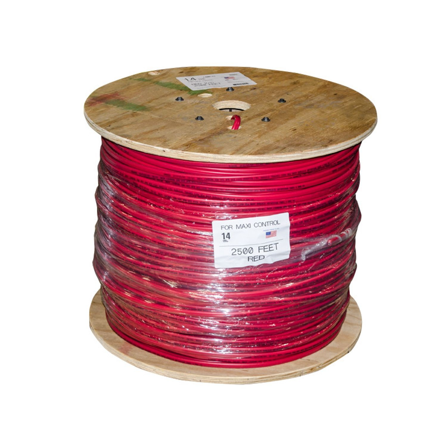 Regency Wire - 14/2 Maxi Cable - Red - 2500\' | Reinders