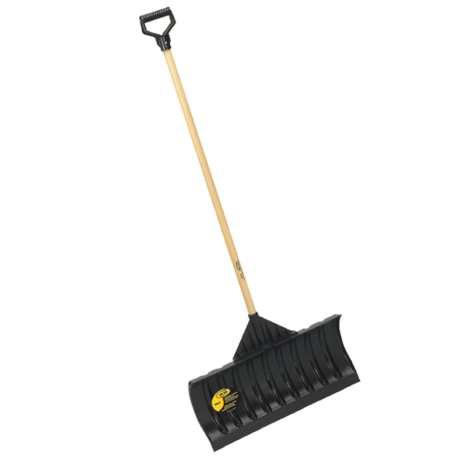 Yo Ho 48 Wood Handle Pusher Shovel Reinders