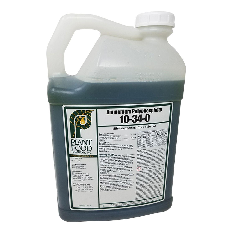 Plant Food Co - 10-34-0 Ammonium Polyphosphate Liquid Fertilizer