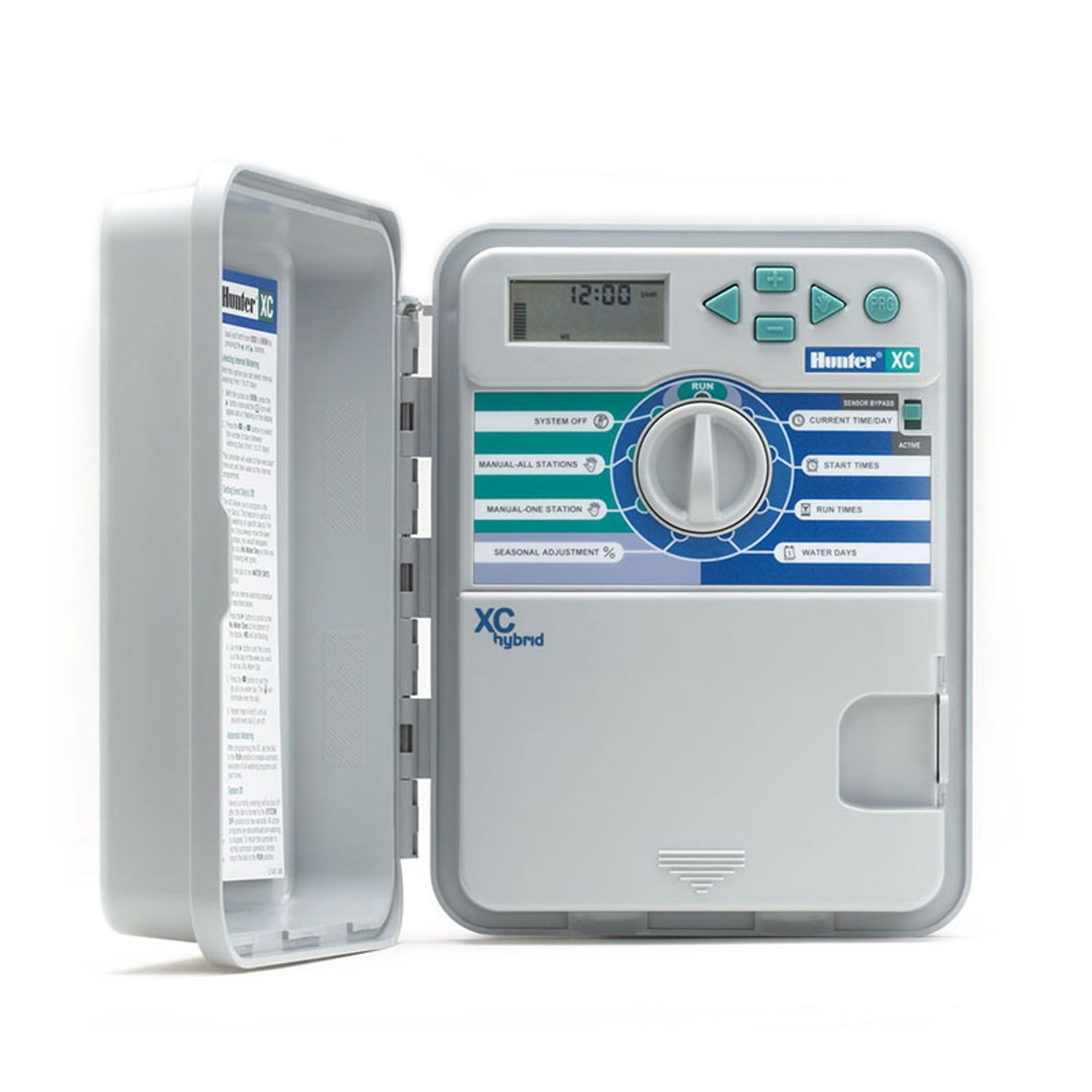 Hunter - 6 Station X-CORE Hybrid Indoor/Outdoor System Controller