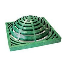 "NDS - 18"" Green Catch Basin Atrium Grate"