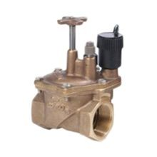"Toro - 1-1/2"" Brass Electric Angle Valve"