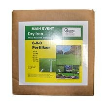 Quest - Main Event Dry Iron 10% Micros - Case of 10 - 3 LB PACKETS