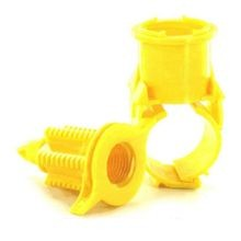 "Blazing Saddle - 1-1/4"" Poly by 1/2"" FPT Saddle for Poly Pipe"