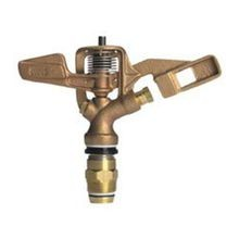 "Storm Manufacturing - 3/4"" F/C Brass Impact Sprinkler Double Nozzle"