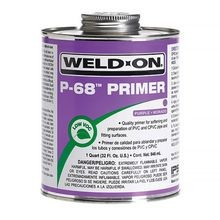 IPS Weld-On - P-68 PVC Purple Primer, Quart