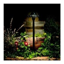 Kichler Lighting - Pierced Dome Path Light - Textured Architectural Bronze Finish