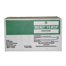 Bayer - Merit 75 WSP Insecticide- 4 Boxes of 4 - 1.6 OZ