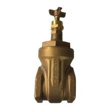 "Nibco - T113K - 3"" Bronze Gate Valve With Cross Handle"