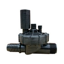 "Hunter - PGV Series - 1"" Jar Top Globe Valve with Flow Control Male NPT x 1"" Barb"