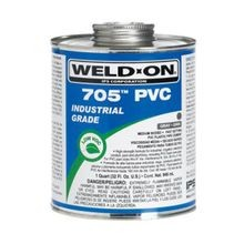 IPS - 705 PVC Cement, Gray