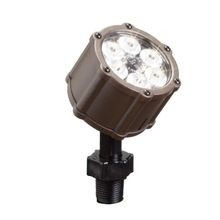 Kichler - 6 LED 8.5W 35° Accent Uplight - 3000K - Textured Architectural Bronze