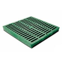 "NDS - 12"" X 12"" Green Square Catch Basin Grate"