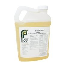 Plant Food Co - Boron 10% - Case of 2 - 2.5 GAL Jugs