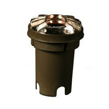 FX - FC Series 20W Incandescent Well Light with Louver - Camo Bronze