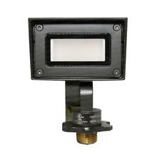 WAC Lighting - 1-8W Mini LED Wall Wash - 2700K & 3000K - Bronze on Brass