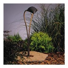 Kichler Lighting - Adjustable Crescent Path Light - Olde Bronze Finish