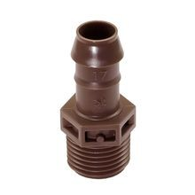 "Rain Bird -  Barb Male Adapter 17 mm X 1/2"" MPT"