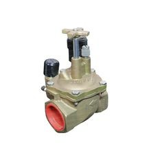 "Toro - 1-1/2"" Brass Electric Angle Valve, Pressure Regulated"
