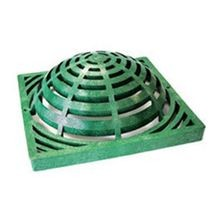 "NDS - 12"" Green Catch Basin Atrium Grate"