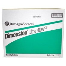 Dow - Dimension Ultra 40WP Pre-Emergent Herbicide - 8 Boxes of 8 - 5 OZ WSP