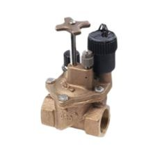 "Toro - 1"" Brass Electric Angle Valve, Pressure Regulated"