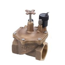 "Toro - 2"" Brass Electric Angle Valve, Pressure Regulated"