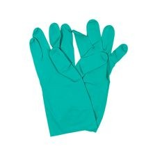 Axiom - Nitril Lined Gloves, Green 2XL