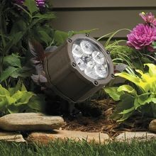 Kichler Lighting - 6 LED Accent Light With 10° Spread - Textured Architectural Bronze Finish