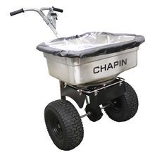 Chapin - Professional Stainless Steel Salt Spreader - 100 LBS