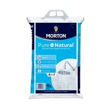 Morton - Pure & Natural Solar Salt - 40 LB Bag