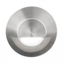 WAC Lighting - 4.1W LED Circle Step Light - Submersible - 3000K - Stainless Steel