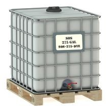 Envirotech - SOS Salt or Sand Stockpile Treatment with Dye - 275 GAL TOTE