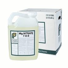 Plant Food Co - 7-0-0 Magnesium Nitrate 6% Magnesium - Case of 2 - 2.5 GAL Jugs