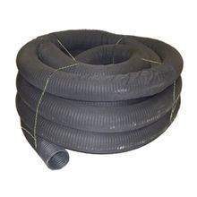 "ADS - 6"" X 100' Single Wall Corrugated Perforated Wrapped Pipe"