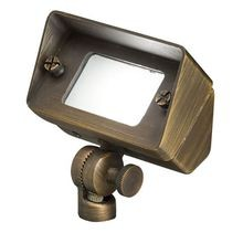 Kichler - Solid Brass Mini Wall Wash Light- Centennial Brass - No Lamp