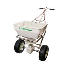 Prizelawn - Stainless Steel Commercial Broadcast Spreader - 70 LB