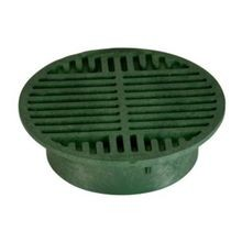 "NDS - 8"" Green Round Grate"