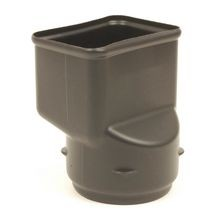 "ADS - 4"" Corrugated Adapter for 4"" X 3"" Downspout"