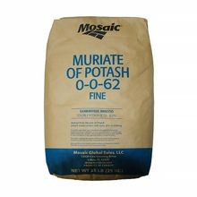 0-0-62 Soluble (MOP) Potash - 55.1 LB BAG