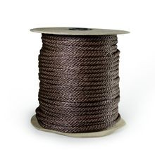 Aqua Control - Mooring Rope-Black-250' On Spool