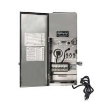 Nightscaping - 600W 12-15V Pro Series Transformer with Side Hinge - Stainless Steel