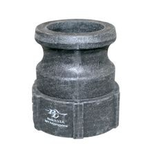 "P-T Coupling - 1-1/2"" Polypropylene Adapter - Adapter X Female NPT Thread"