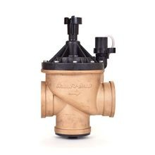 "Rain Bird - 3"" Brass Master Valve - Globe and Angle Configuration"